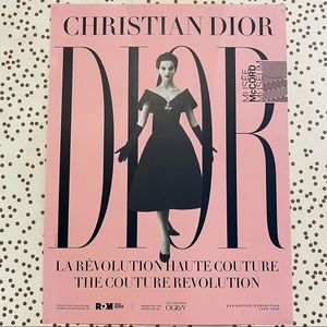 ** Add On ** Christian Dior Poster (Dior Museum)